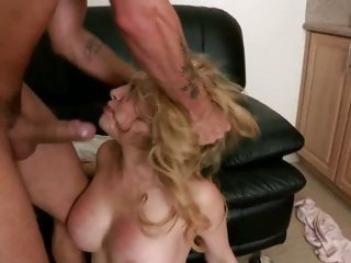 Kagney Karter stuffed with cock and slapped silly