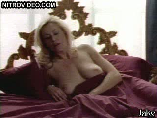 Mesmerizing Blonde Sweetheart Carrie Yazel Receives Pounded On Her Bed