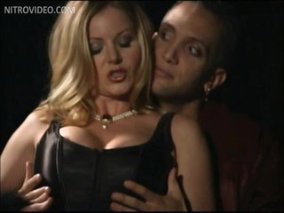 Slutty Babe T.J. Hart Receives Fucked Wearing Hot Black Underware