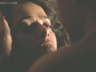 Spectacular Latina Salma Hayek Gets Favourable in a Wild Sex Scene