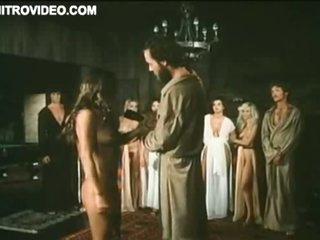 Slutty Vintage Babe Michelle Bauer Sucks Cock - Hardcore Sex Scene