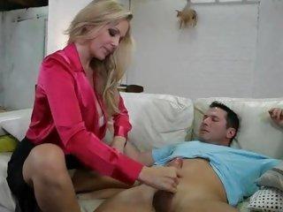 Sexy momma Julia Ann is super sucking admirable