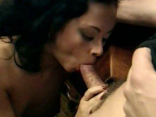Alluring Olivia Del Rio swallows a hard fuck stick