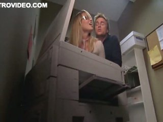 Golden-haired Bombshell Baelyn Neff Receives Banged Against The Copier
