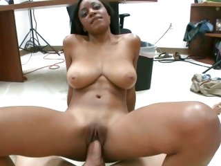 Delightful bitch widens her piss flaps round a hard dick