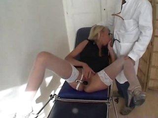 Doctor fucks his hot blonde patient hard