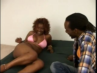 Smoking Hawt Ebony Sweetheart Renea Jacobs Gets Her Hairy Pussy Fucked Hard