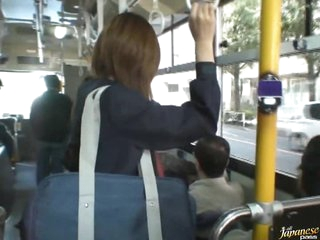 Sexy Asian School Girl Gets Drilled on a Crowded Bus