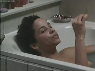Busty Ebony Star Rae Dawn Chong Naked In The Bathtub