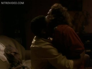 Large Tittied Ebon Lisa Nicole Carson Riding Denzel Washington