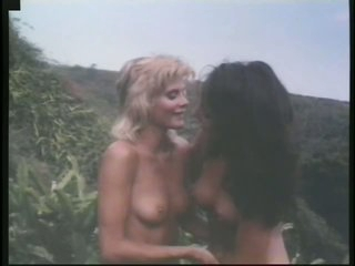 Insanely Hot Retro Outdoor Orgy Full Of Gorgeous Lesbian Bitches