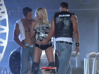 Blonde Milf IS Team-fucked By Horny Cocks