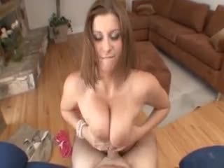 Curvy beautiful beauty titjob and POV sex
