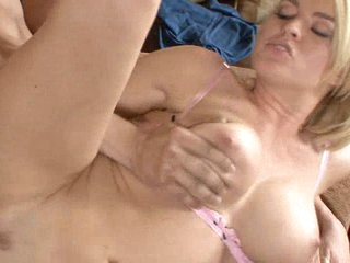 A couch Krissy Lynn and a huge rod results her pussy full of rod