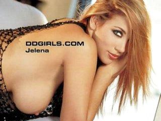 Sexy Jelena Jensen teases