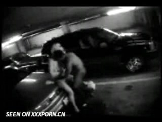 Couple caught on parkinglot cam