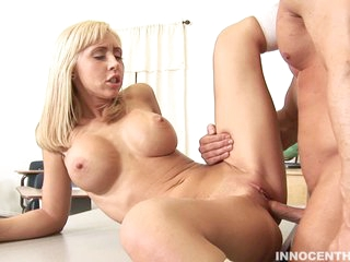 Jessica Lynn acquires her fresh hairless vagina pounded savagely out of mercy.