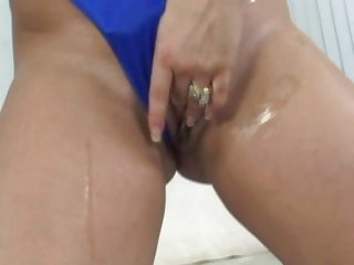 Fuckable Friday jiggles her big tits as she pounds