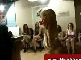 Cfnm Bear Stripper Fucks Bride