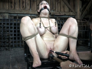 PD is the source that all of the pleasure flows from for Dixon Mason. Her love of rope is intense enough that her pussy is dripping wet. The way she cums is more like a fountain, though. Her pussy erupts like a geyser when PD pushes the magic button. She