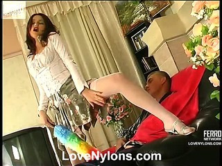 Elsie&Patrick nasty nylon action