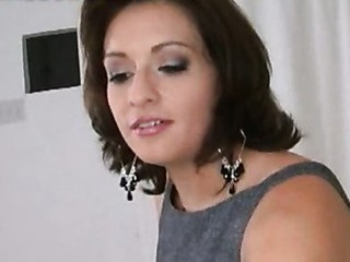 Office woman Blows and Copulates Rod be proper of Facial