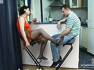 Christina&Monty violent older action