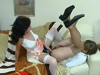 Millie&Frank ding-dong sissysex action