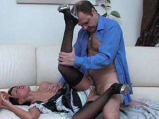 Subrina&Hubert hotty and oldman movie