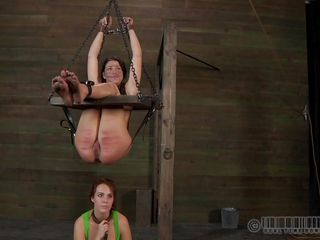 dirty slut hanged and used