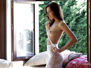 beautiful 18 yo girl undressing