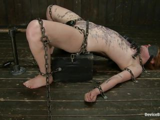 chains and hot wax