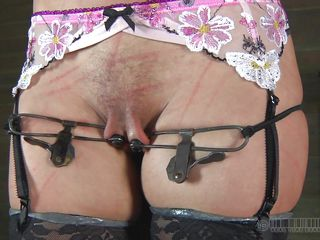 i`m tied up and ready for my punishment