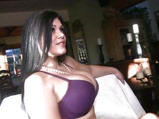naughty brunette milf satinee capona