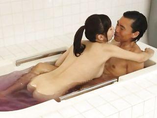 sensual fuck in the bathroom