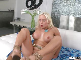 he licks and fucks her pussy then cums in it