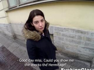 Local cutie guides to orgasm