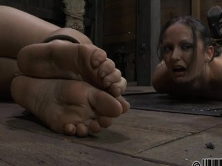 BDSM looks attractive with the action of the masturbation