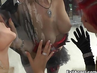 Sweet Cat & Barbra Sweet & Emylia Argan & Rocco Siffredi in Slutty Girls Love Rocco #07 Movie