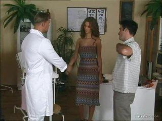 Blonde Nurse Has Hardcore Sex With A Patient's Big Cock