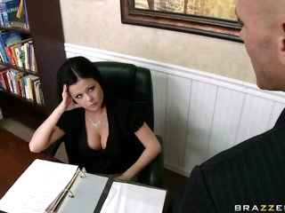 Employee Fucks His Supervisor Loni Evans For The Good Of The Company