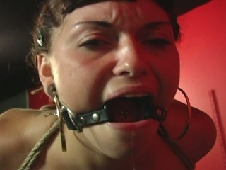 Lovely sex slave abducted and screwed