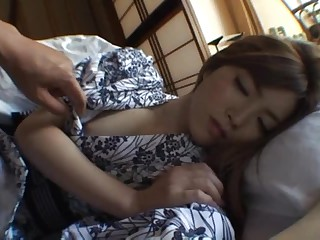 Rina Kato Likes Getting Screwed and Overspread in Jizz Outdoors