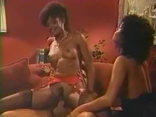 Ron Jeremy fucks 2 black girls